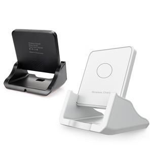 Image 2 - Bezprzewodowa podstawka ładująca Qi USB telefon komórkowy bezprzewodowa ładowarka do Samsung S10 S9 S8 Note10 Xiaomi mi 9 10 iphone 12 11 X XS XR 8