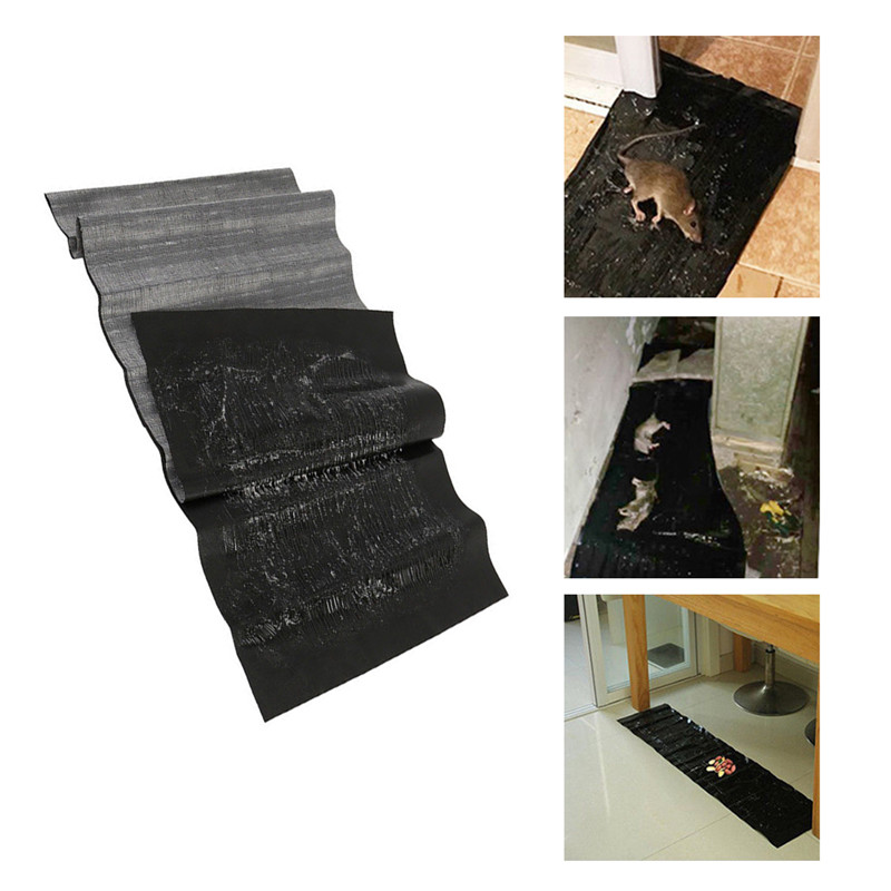 1.2M Non Toxic Mouse Trap Board with Sticky Back Glue to Trap Rats Suitable to Place in Narrow Place