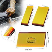 EHDIS Soft Wrapping Squeegee Window Vinyl Film Tints Rubber Scraper Car Sticker Wallpaper Remover Water Wiper Cleaning Tools Set
