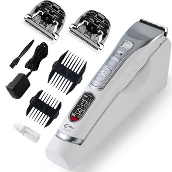 Professional Electric Hair Clipper Rechargeable Hair Trimmer for Men LCD Display Hair Cutting Machine To Haircut Beard Trimmer 1