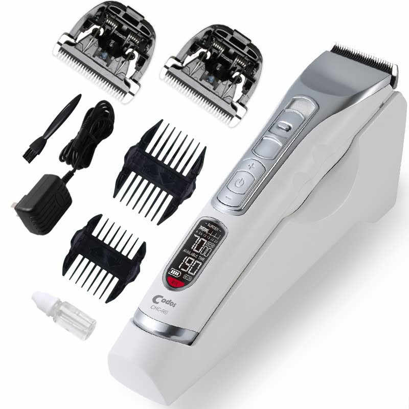 Codos Professional Electric Hair Clipper Rechargeable Titanium Blade Men's Shaving Trimmer Hairdressing Barber Haircut Machine