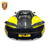 Fit For McLaren 540 570s 570 GT novitec Style Real carbon fiber rear wing tail Spoiler carbon forged wings