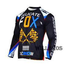 Mountain-Bicycle T-Shirt Jersey Motorbike Delicate Fox Offroad Long-Sleeve Summer 360-Rohr