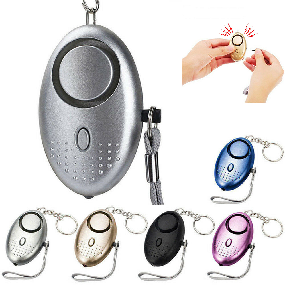 130db Self Defense Alarm Personal Defense Siren Anti-attack Security For Women Kids Personal Security Loud Alert Attack Panic