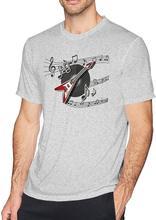 Novas Chegadas Dos Homens de Manga Curta Básica Encolher-Menos Leve Tee Crewneck Algodão Regulares Camisetas