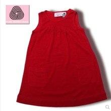Summer Merino Wool Girl's Dress Merino Wool Clothes Size 3T-7T