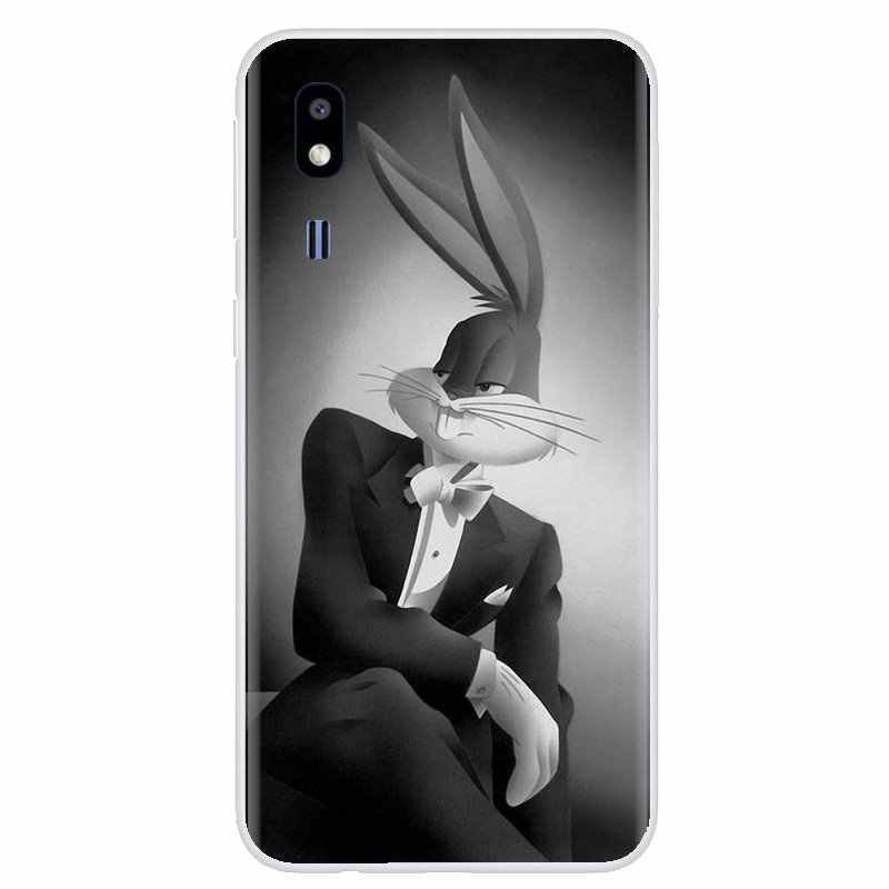 For Xiaomi Mi5 Mi5S Mi6 Mi A1 A2 5X 6X 8 9 Lite SE Pro Mi Max Mix 1 2 3 2S Super Cartoon Looney Tunes Bugs Bunny Soft Case Cover