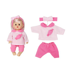 Baby Doll Toy Newborn 30CM Soft Gift Emulated Dolls Toddler Toys 12 Inch Dress Outfits Accessories Girl Kid