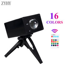 16 Colors Sunset Rainbow Projection Lamps LED Modern Night Light Shop Background Wall Decor Projector Gift Projector Lamp