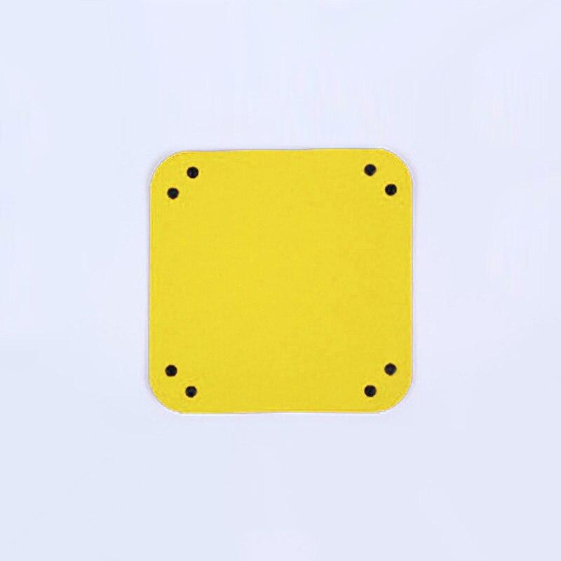 Складная коробка для хранения из искусственной кожи, квадратный поднос для настольной игры в кости, кошелек для ключей, коробка для монет, поднос, настольная коробка для хранения, лотки, Декор - Цвет: B-1