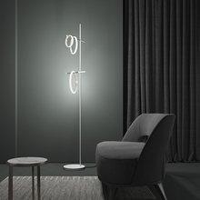 Светодиодный ная Напольная Лампа современный декоративный светильник