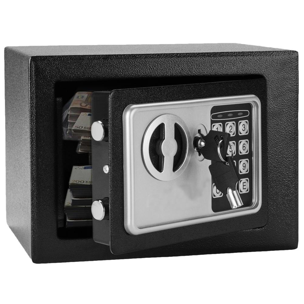 Metal Steel Electronic Code Safe Box Wall-in Style Digital Money Safety Case Caja Fuerte Cofre Eletronico 23 X 17.5 X 17.5cm