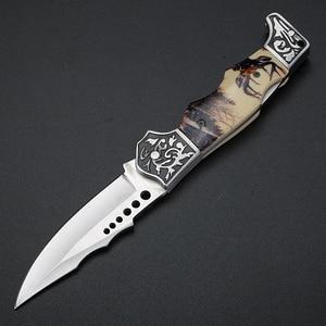Image 5 - 玄風水屋外の戦術的な狩猟ナイフ高硬度軍ナイフフォールディングナイフキャンプポータブルポケットナイフ