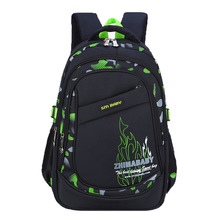 Childrens School Bag Teen Candy Color 7-14 Years Old Waterproof Large Capacity Nylon Boy Girl Student Backpack