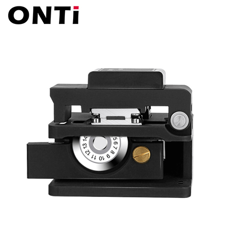 ONTi Fiber Cleaver Optical Fusion Cable Cutting Knife FTTH Single Mode Metal Fiber Optic Tools Cutter High Precision Cleaver Lahore