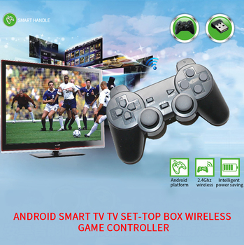 2.4G Wireless Gamepad For Android Phone/PC/PS3/TV Box Joystick 2.4G Joypad Game Controller Remote For Xiaomi Android Smart Phone wireless gamepad gaming controller for ps3 android tv box pc gpd xd with otg converter computer joystick joypad