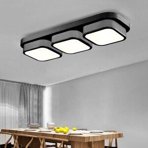Image 5 - LED סלון מטבח תקרת אורות שלט רחוק ניתן לעמעום אמבטיה Plafon שינה אוכל תאורת מנורות מודרני קישוט