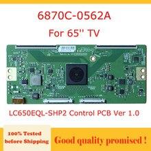6870C-0562A 6871L 4014E Lg 65 Tv Main Board LC650EQL-SHP2 Controle Pcb Ver 1.0 Board Voor 65 ''Tv 6870C0562A 6871L4014E tcon