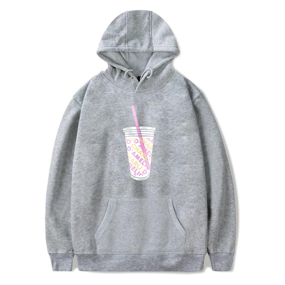 Charli Damelio Merch Print Ice Coffee Splatter Hoodie Women Men Sweatshirt Harajuku Hoodies Long Sleeve Tracksuit Pullover Womam 13