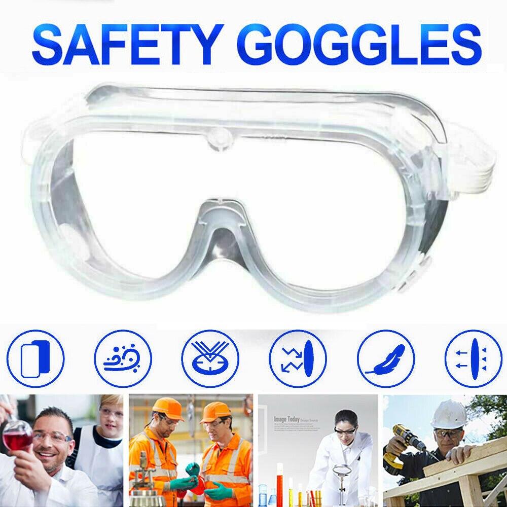 Dustproof Safety Glasses Women Men Outdoor Sport Anti-Fog Eye Protective Glasses Work Gafas Goggles Proteccion Glasses D30