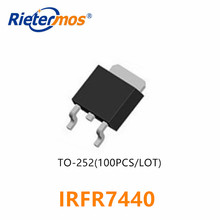 100 個 IRFR7440 IRFR7440PBF FR7440 TO252 N CHANNEL 40 12V SMD