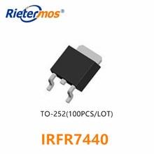 100 sztuk IRFR7440 IRFR7440PBF FR7440 TO252 N CHANNEL 40V SMD