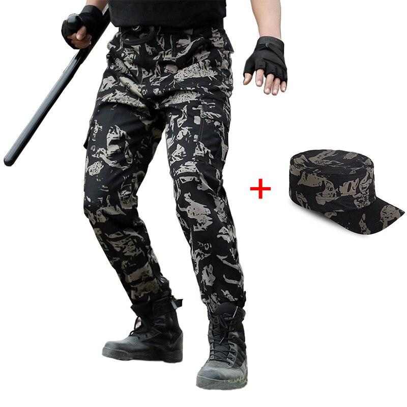 Tactico Pantalones Tipo Comando Hombres Pantalones De Carga De Los Hombres Pantalones Militares Clasico Estilo Militar Pantolon De Cazador De La Selva Pantalones Pantalones Informales Aliexpress