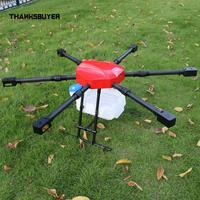 6Axis Agriculture Drone 1400mm Agricultural UAV Drone Frame Capacity 10KG 10L Tank for Farm Use