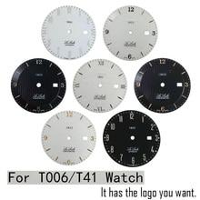 Aplicável 1853 relógio t41 lee lock t006 masculino mecânico dial original literal l164/264 1
