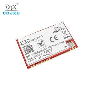 Image 3 - Si4438 433mhz rf módulo tcxo ebyte E30 433T20S3 smd, transmissor sem fio, alcance longo de 100mw 2500m ipex conector