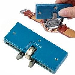 Dwa pazury stół kluczowy zegarek tylna pokrywa narzędzie do otwierania regulowany klucz prostokątny do naprawy zegarków zestaw narzędzi w Narzędzia i zestawy do naprawy od Zegarki na