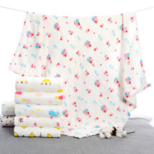 Class A Gauze Baby Multifunctional Blanket Bath Towels Increase Thickening Soft Absorbent Baby Stroller Blanket