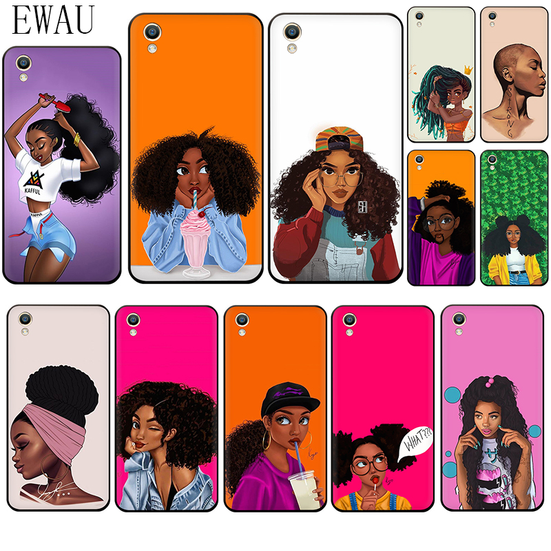 African Beauty <font><b>Girl</b></font> Silicone Phone <font><b>Case</b></font> for <font><b>OPPO</b></font> A5 <font><b>A57</b></font> A59 A83 A73 F7 F9 R9s A37 A7 A77 F11 R15 R17 Pro K3 K5 A9 image