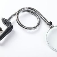 3 X 100mm Lens Repaire Magnifier Loupe With Flexible Hose Clip Magnifying Desk Table Clamp Folders M0XD