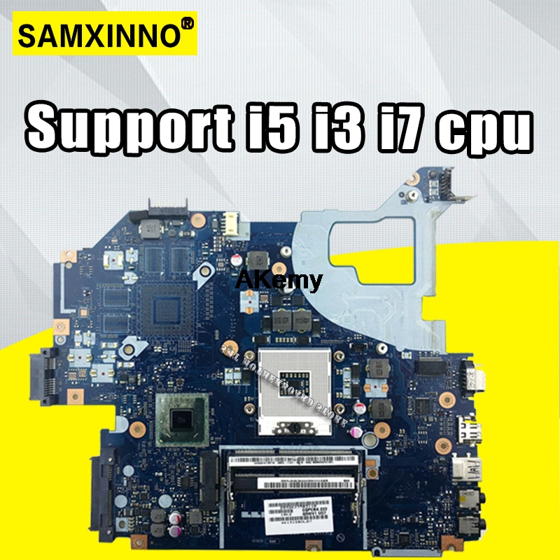 Q5WV1 LA 7912P laptop motherboard for Acer V3 571 for Gateway NV56R E1 571 HM77 HD4000 NBC0A11001 Support i5 i3 i7 cpu