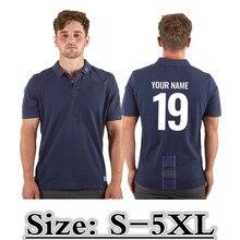 Рубашки поло для регби из Шотландии, Джерси, размер: S-5XL, принт, имя на заказ, номер, качество, идеальное