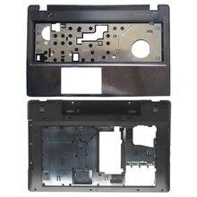 New Case Cover For Lenovo Z580 Laptop Series bottom case Z585 Base Bottom/ Palmrest  COVER
