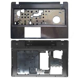 Image 1 - New Case Cover For Lenovo Z580 Laptop Series bottom case Z585 Base Bottom/ Palmrest  COVER