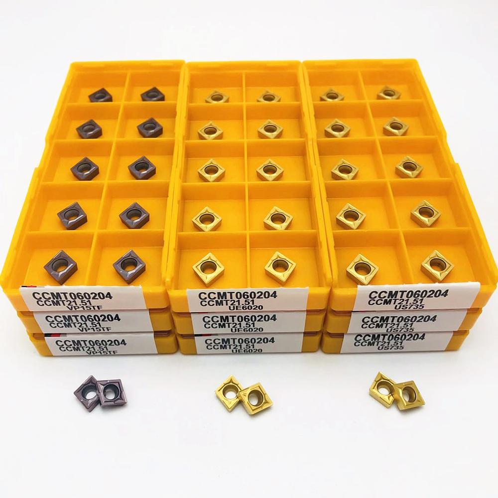 Купить с кэшбэком High-quality carbide turning tool CCMT09T304 VP15TF UE6020 US735 CNC machine tool milling tool CCMT060204 lathe toolCCMT