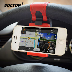 Portable Sturdy Phone Holder Car Accessories Universal Mount Steering Wheel Car Ornament Pendant for Girls Decoration