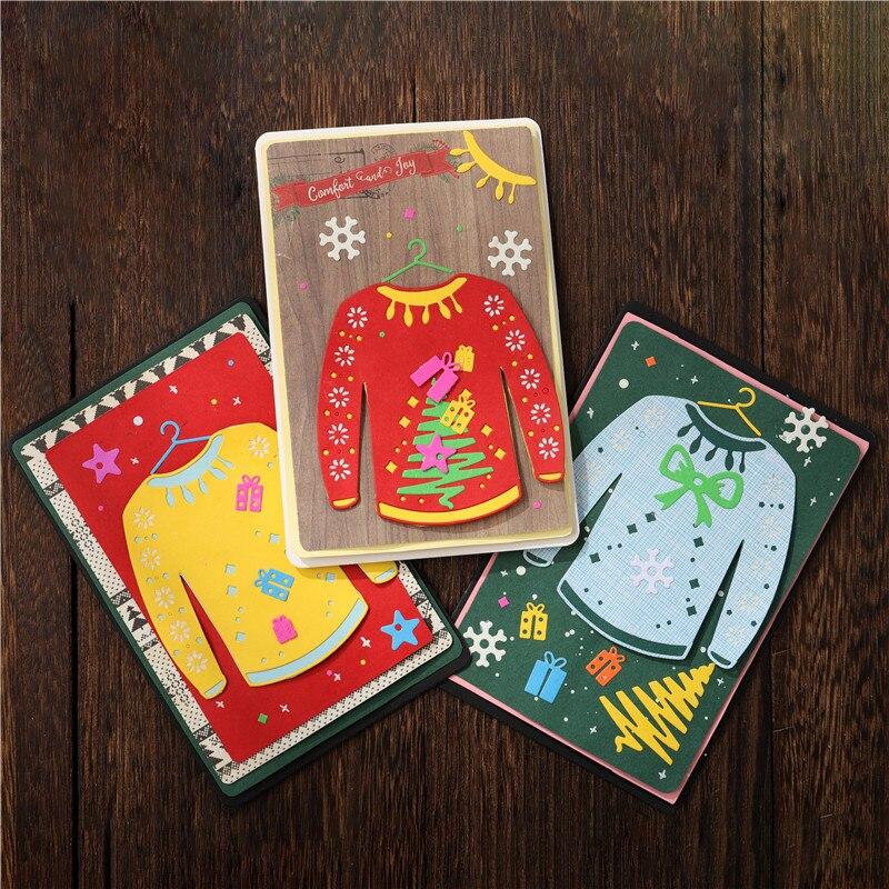 DiyArts Cloth Christmas Dies Metal Cutting Dies New 2019 for Card Making Scrapbooking Dies Embossing Cuts Stencil Craft Dies