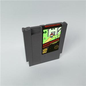 Image 1 - Earthbound Classic Sticker Version   72 pins 8bit game cartridge