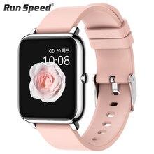Reloj inteligente P22 para hombre y mujer, reloj deportivo, rastreador de ejercicios, Monitor de ritmo cardíaco, Monitor de sueño, Smartwatch IP67 para OPPO, Android IOS