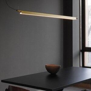 Image 1 - LED つりランプぶら下げランプノルディックライト高級モダンシンプルオフィス LED シャンデリアアートライトレストラン