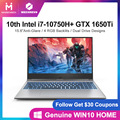 2020 new arrival MECHREVO Z2Air-s gaming laptop 10th gen core i7-10750H Geforce Gtx 1650ti 1920*1080 ips RGB Backlit keyboard