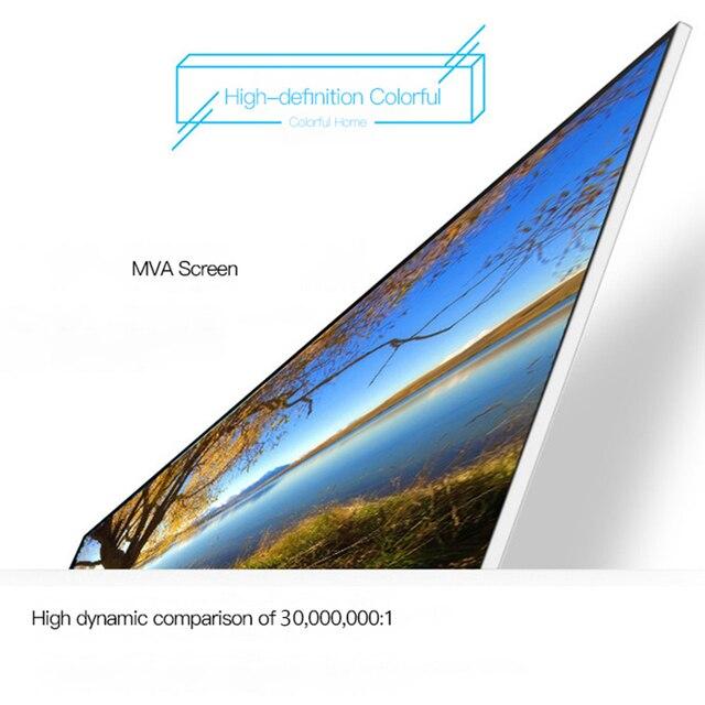 "Hugona 24 cal 27 cal zakrzywiony ekran monitora 75Hz HD do gier 22/23.8 ""cal komputer płaski panel wyświetlacz VGA/interfejs HDMI"