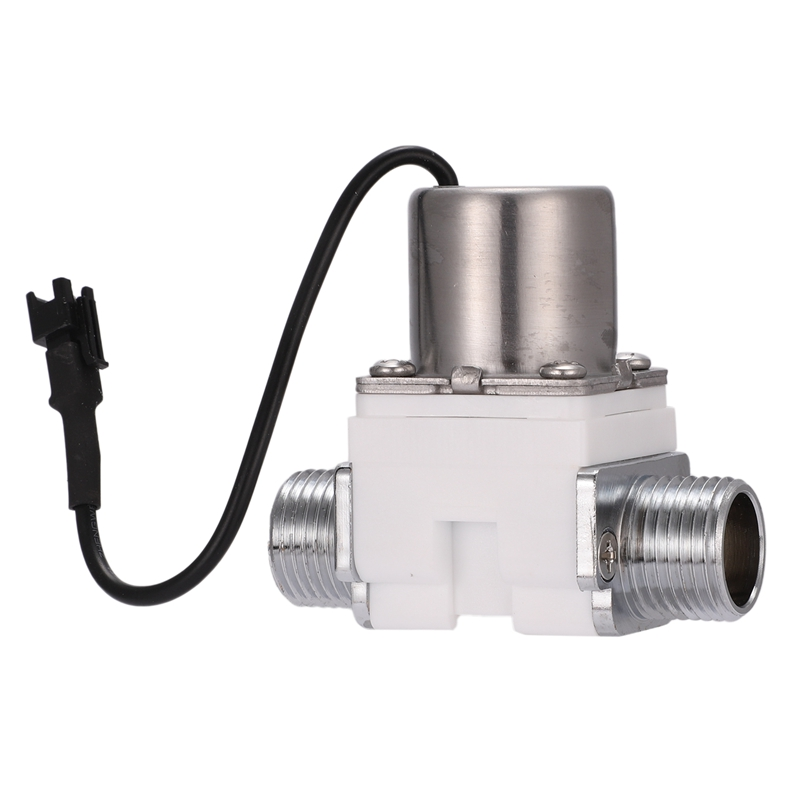 Solenoid Valve 1 /2 Inch DC4.5V Water Control Electric Pulse Plastic Solenoid Valve Accessory