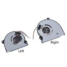Cpu portátil/ventilador de refrigeração gpu para-rog strix gl702 gl702vm s7vm gl702vmk gl702vml DFS2000054Q0T-FJ9U