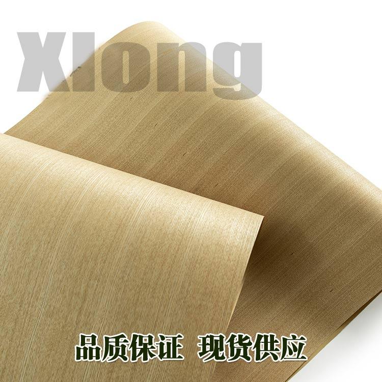 L:2.5Meters Width:600mm Thickness:0.2mm Natural Wide Fraxinus Mandshurica Straight Grain Veneer Natural Veneer Solid Wood Veneer