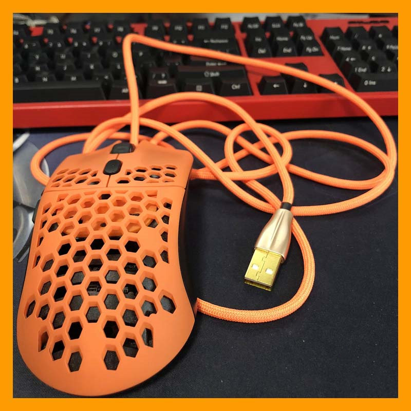 Umbrella Rope Mouse Cables MOD Accessories Cord Ultra Soft Light Handmade Comfort Wireless Gpro Rival 3.0pro GPW USB Highquality